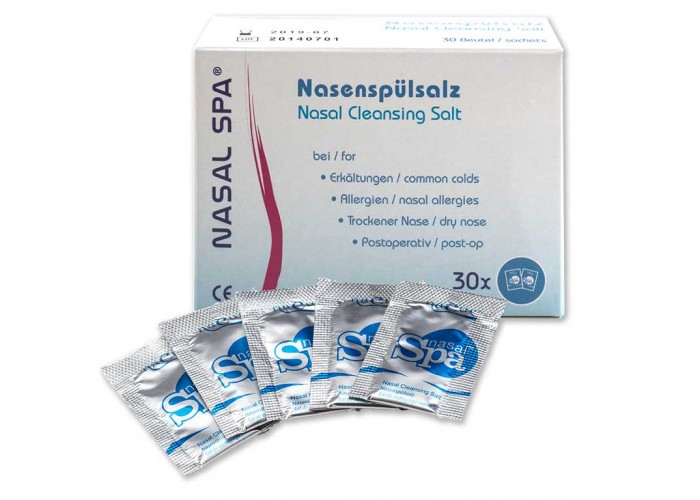 Nasal Spa Cleansing Salt 30 Sachets